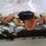 結婚式引菓子チョコレートとナッツのケーキ