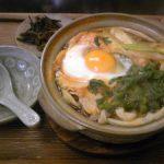 郷の茶店えほん鍋焼きうどん2012.2.29