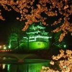 上越市高田城百万人観桜会2012高田城三重櫓