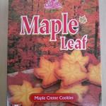 カナダ土産メイプルクッキー