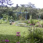 妙高高原カナディアンハウスの庭
