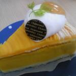 シャトレーゼかぼちゃのスフレチーズケーキ