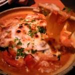 ポッチャリーノ辛鍋焼きパスタ