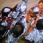 イタリアWITOR'S SELECTION丸いチョコレート3種類入り