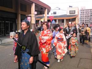 2013春お馬出しお花見横丁お江戸風俗ファッションショー