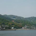 静岡県熱海市の海岸線