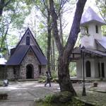 白馬村和田野の森教会