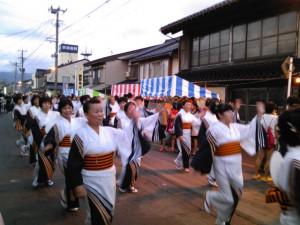 寺町琴平社宵祭り歩行者天国2013
