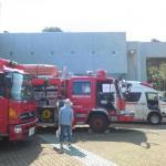 フォッサマグナミュージアム消防車