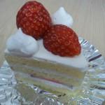 糸魚川リーベルイノヤ苺ショートケーキ