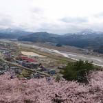 美山公園貯水タンク展望台からの眺め