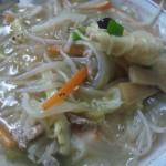 第二こだま食堂チャンポン麺