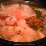 糸魚川駅隣接だいにんぐばー徳菜光のチゲ鍋