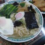 日本海のよこはま月徳飯店の野菜五目ラーメン
