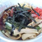 糸魚川駅徒歩すぐあおい食堂の冷やし中華