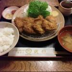 糸魚川国道148号線沿い銭形大野店ヒレカツ定食