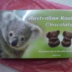 オーストラリア土産コアラチョコレート