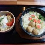 七福の湯上越店 鶏つくねとゆばの豆乳鍋