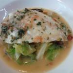 美山アンフィートリヨンのランチ真鯛