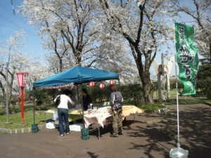 美山公園お花見屋台2016