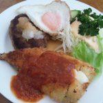 富山県黒部市レストランジェノバのランチ