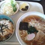 糸魚川駅日本海口すぐ源兵衛の丼ベーセット