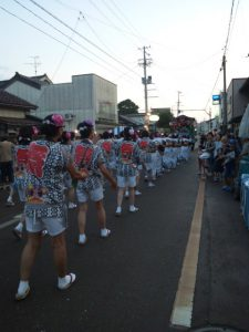 寺町琴平社 宵祭り歩行者天国2017リポート
