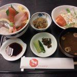 直江津駅前ホテルハイマート2階 お食事処多七 海鮮丼