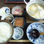 糸魚川市寺島 蒸気茶屋つみれ汁定食