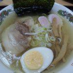 糸魚川市本町復興食堂 翠鶏の塩ラーメン
