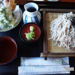 糸魚川市根知歩荷茶屋の手打ち蕎麦