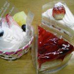 長岡市川口モン・レーブのケーキ