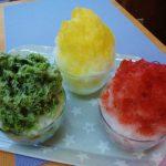 山川製菓舗かき氷