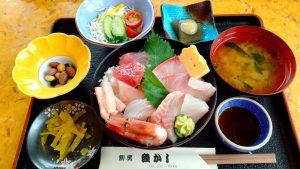 糸魚川市割烹魚がし海鮮丼