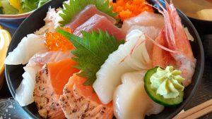 割烹魚がし海鮮丼の写真